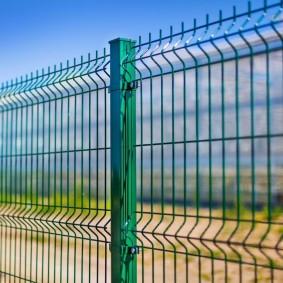 секционный забор для дачи фото