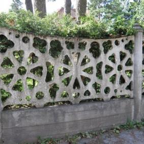 секционный забор для дачи идеи декора