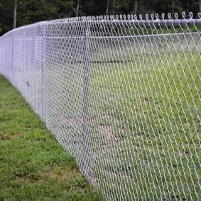 секционный забор для дачи фото видов