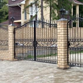 секционный забор для дачи обзор