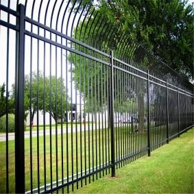 секционный забор для дачи металлический