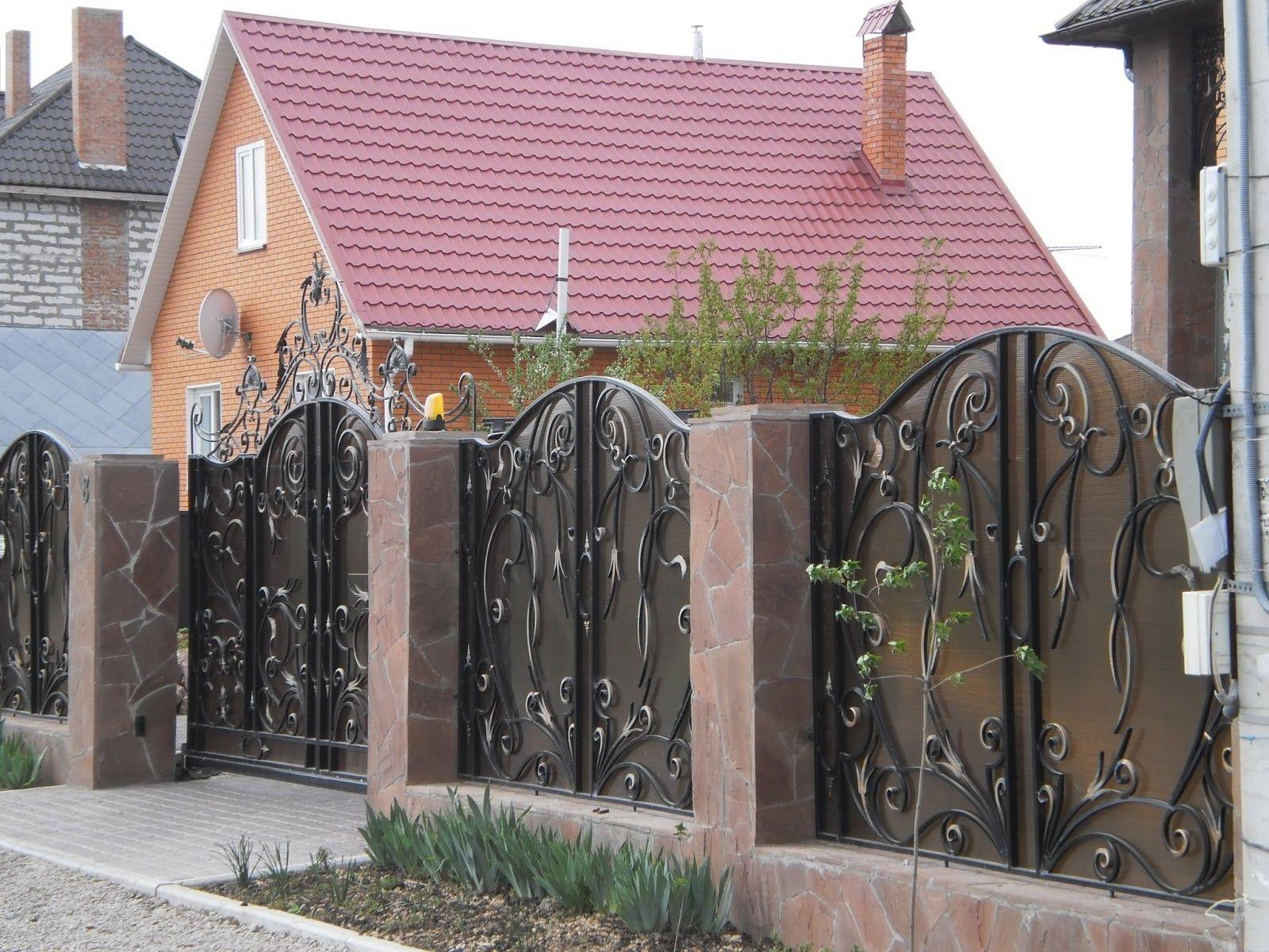 секционный забор ковано сварной