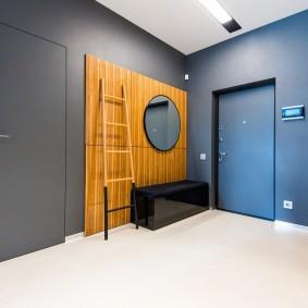 серые двери в квартире идеи варианты