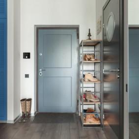 серые двери в квартире виды дизайна