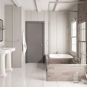 серые двери в квартире варианты дизайна
