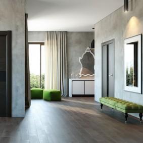 серые двери в квартире идеи фото