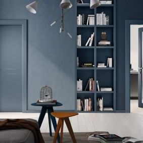 серые двери в квартире современный стиль