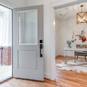 серые двери в квартире фото дизайна
