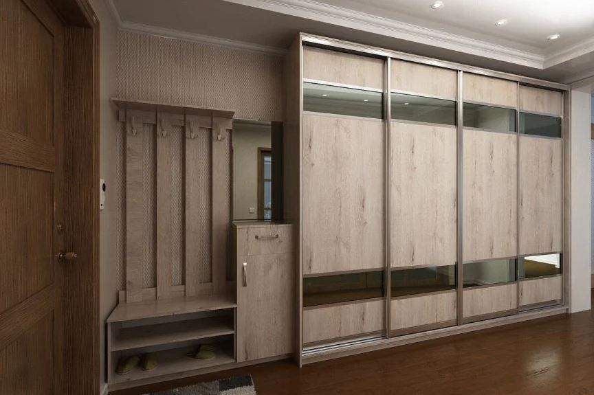 Набор мебели для прихожей длиной в 3 метра