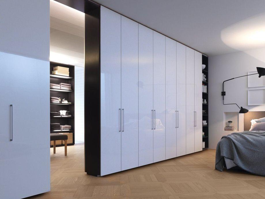 Встроенные шкафы в однокомнатной квартире