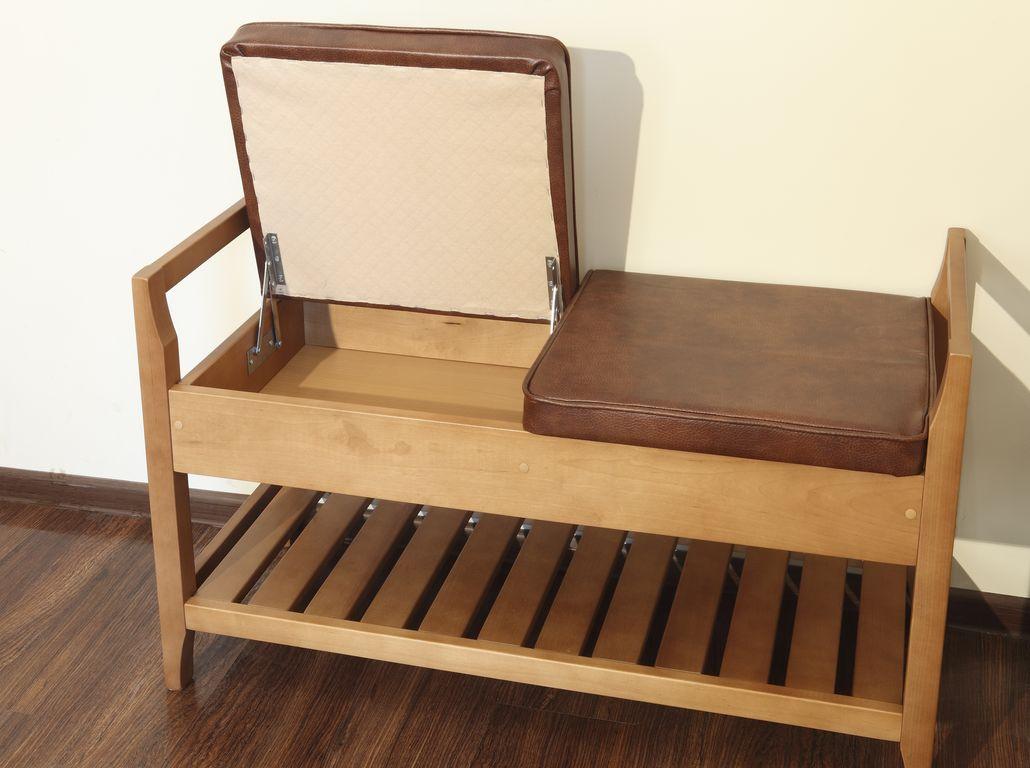 скамейка для прихожей с откидным сиденьем
