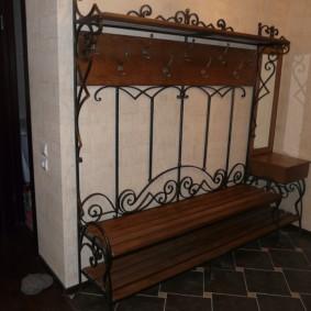 скамейка в прихожую идеи декор