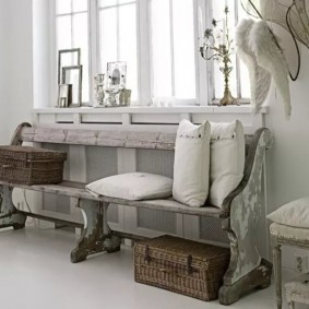 скамейка в прихожую идеи декора