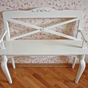 скамейка в прихожую фото интерьер