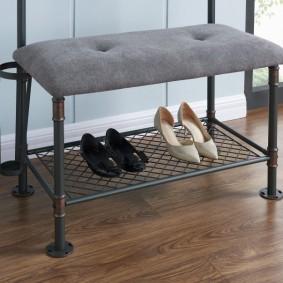 скамейка в прихожую виды дизайна
