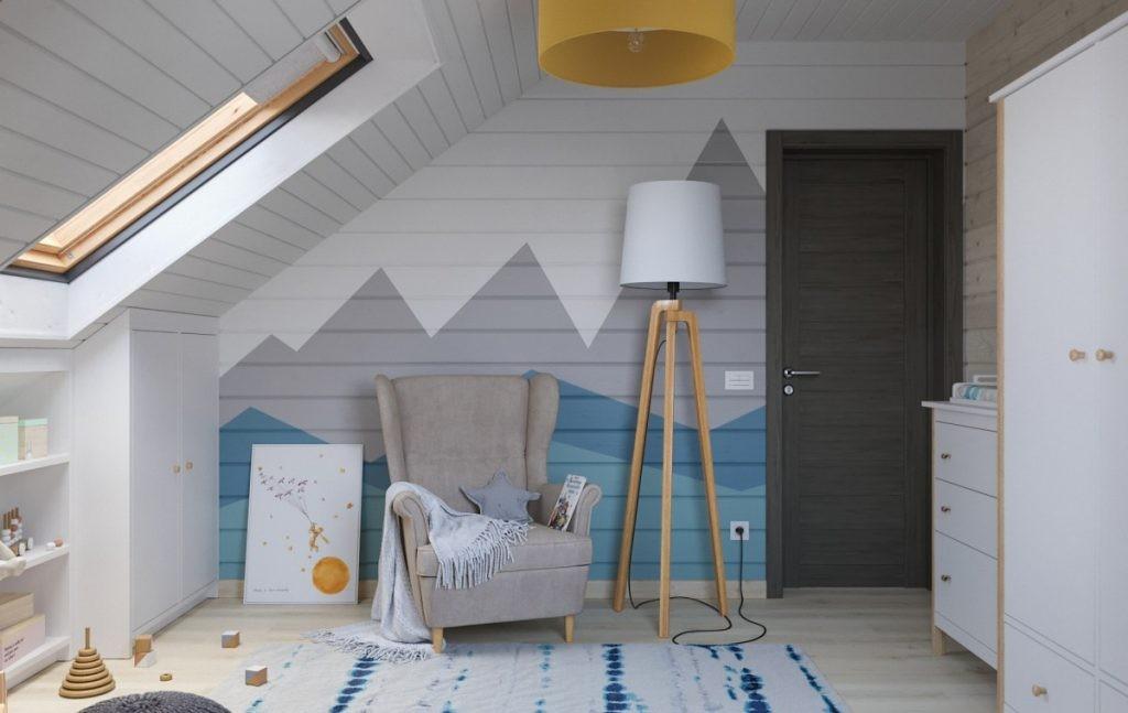 Комфортная детская комната в скандинавском стиле