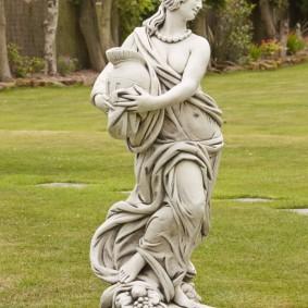 скульптуры для сада фото оформление