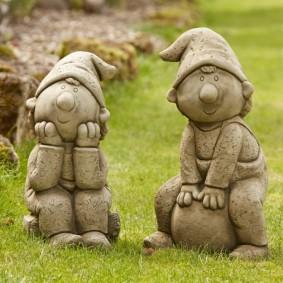 скульптуры для сада варианты фото