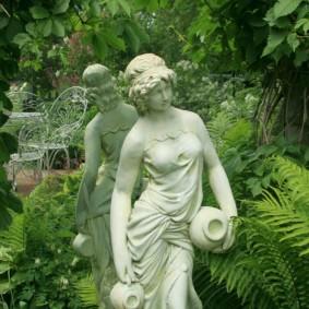 скульптуры для сада виды фото