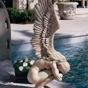 скульптуры для сада фото видов