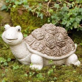 скульптуры для сада черепахи