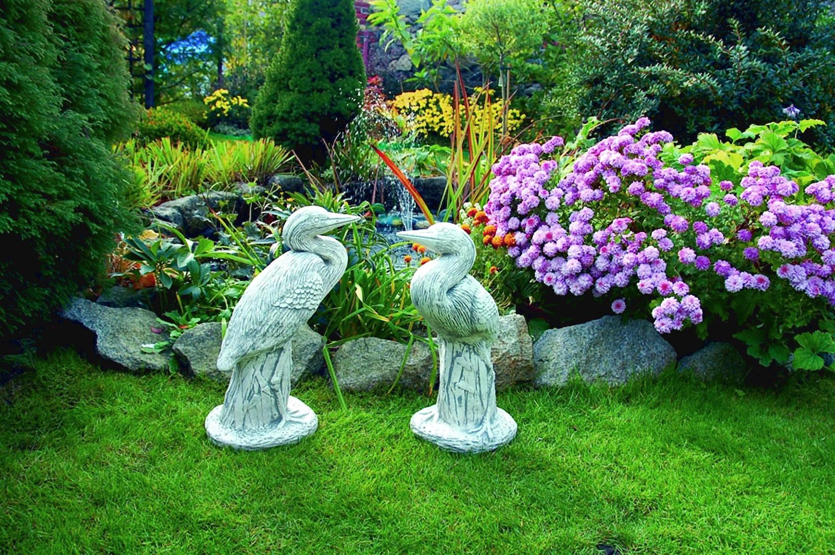 изготавливают сухой садовый декор в ландшафтном дизайне фото при изготовлении