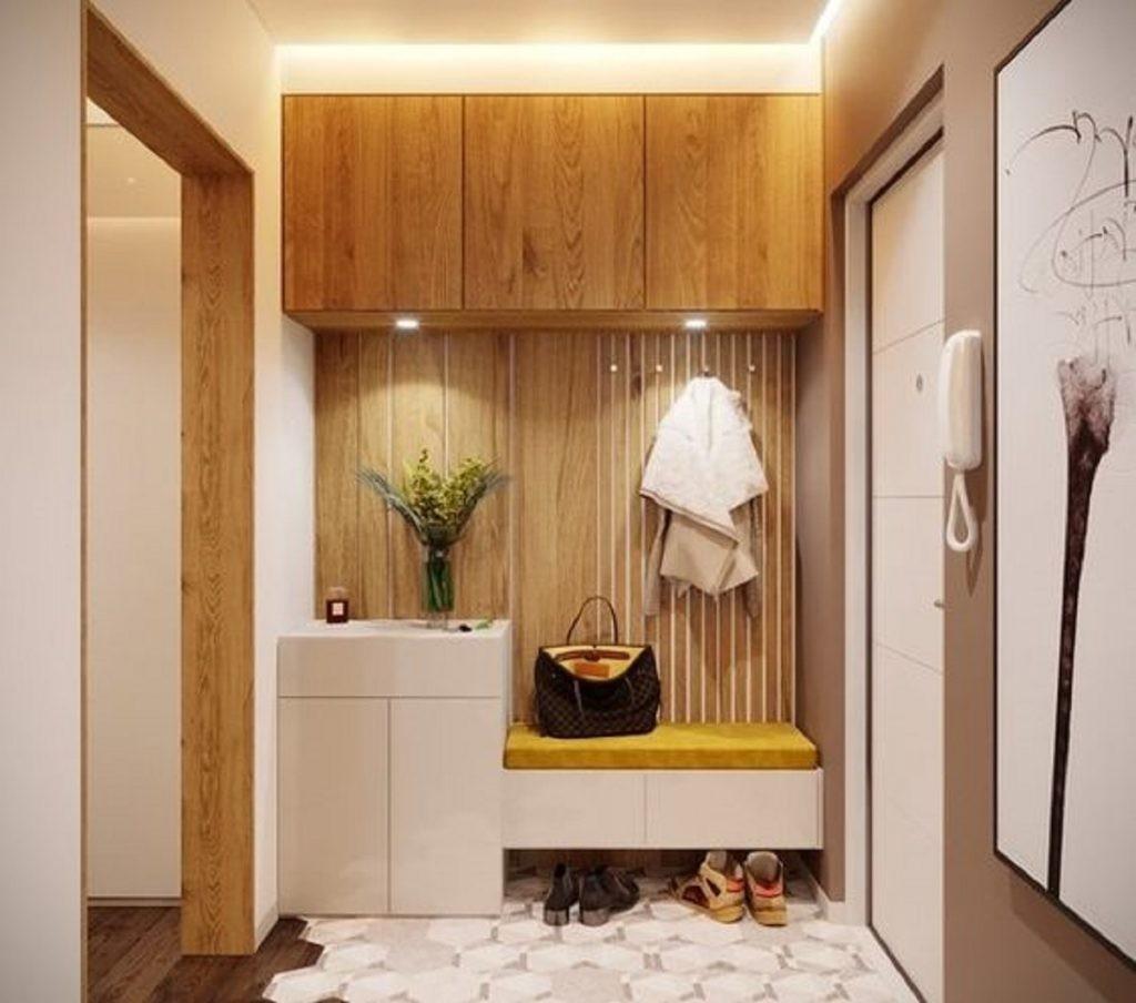 Современная мебель в коридоре квартиры