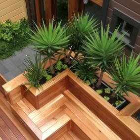 современная садовая скамья виды идеи