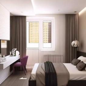 современная спальня фото видов