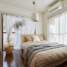 современная спальня фото оформления