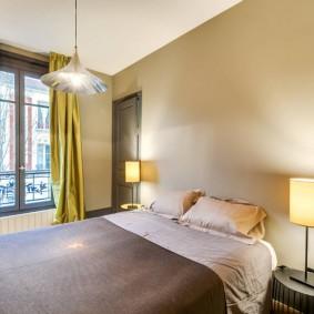 современная спальня фото оформление