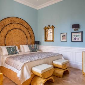 современная спальня оформление фото