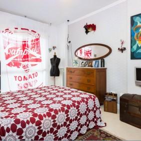 современная спальня фото дизайна