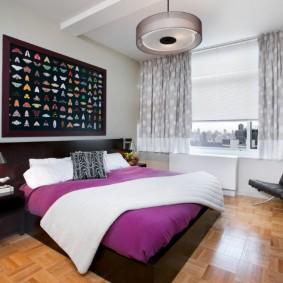 современная спальня идеи интерьер