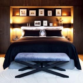 современная спальня виды идеи
