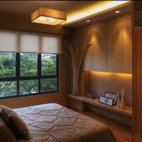 современная спальня интерьер фото
