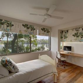 современная спальня идеи декор