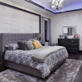 современная спальня интерьер