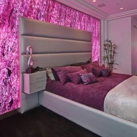 спальня в серо розовых тонах идеи декора