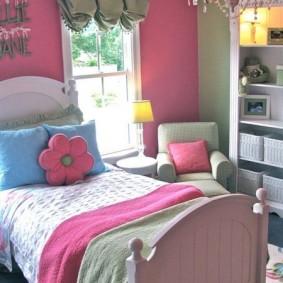 спальня в серо розовых тонах варианты идеи