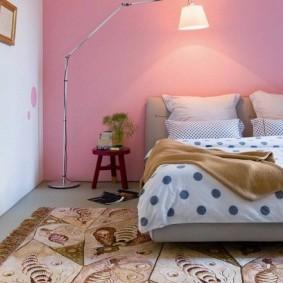 спальня в серо розовых тонах идеи вариантов