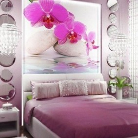 спальня в серо розовых тонах идеи виды