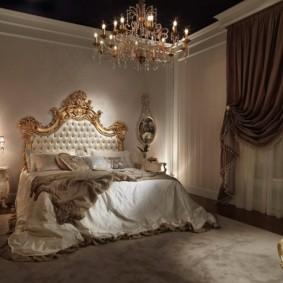 спальня в шоколадных тонах фото оформления