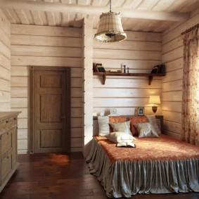 спальня в шоколадных тонах варианты