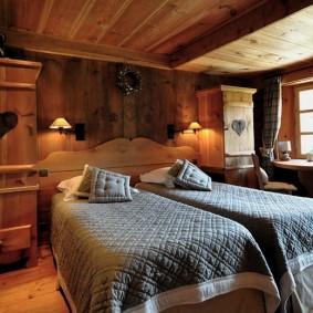 спальня в шоколадных тонах варианты фото