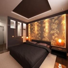 спальня в шоколадных тонах фото дизайн