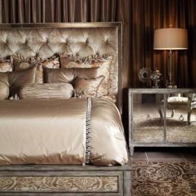 спальня в шоколадных тонах идеи фото