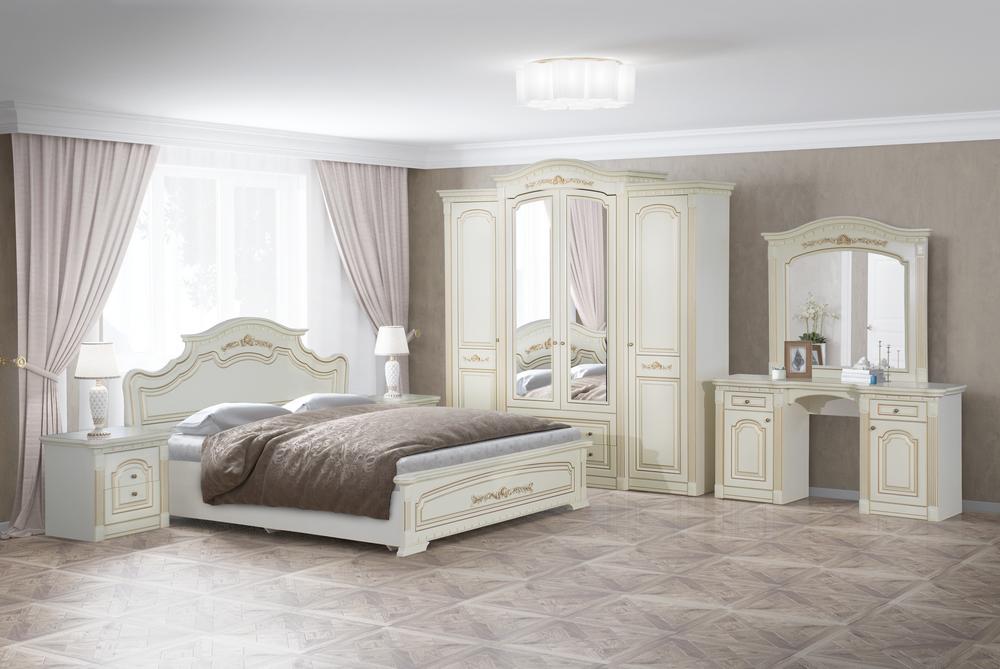 спальный гарнитур белый фото