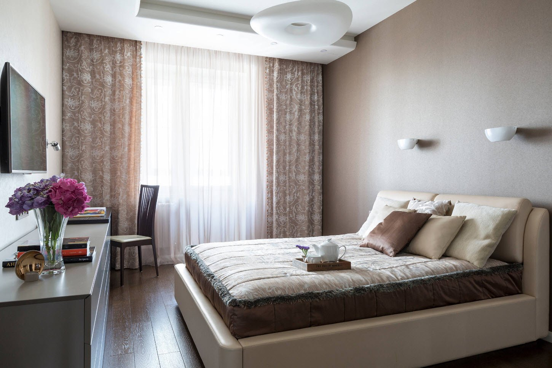 спальный гарнитур бежевый
