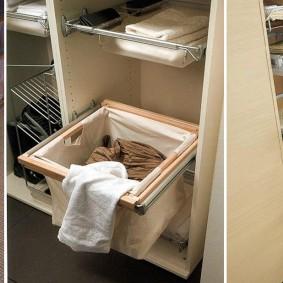 стеллажи для гардеробной комнаты идеи дизайна